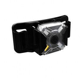 NITECORE NU05 LE Lampu Sinyal LED Mini Headlamp USB Rechargeable 20 Lumens - Black - 2