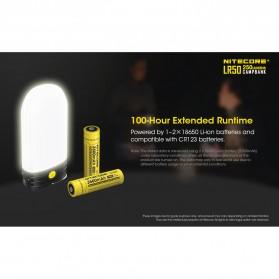 NITECORE Lampu LED Pocket Camping Lantern 250 Lumens with Power Bank + Battery Charger - LR50 - Black - 10