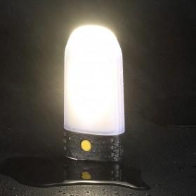 NITECORE Lampu LED Pocket Camping Lantern 250 Lumens with Power Bank + Battery Charger - LR50 - Black - 5