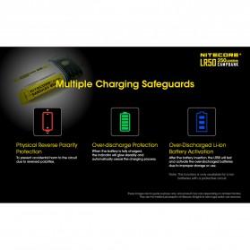 NITECORE Lampu LED Pocket Camping Lantern 250 Lumens with Power Bank + Battery Charger - LR50 - Black - 7