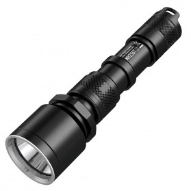 NITECORE MH25GT Senter LED CREE XP-L HI V3 1000 Lumens - Hunting Kit - Black