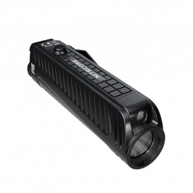 NITECORE P18 Senter LED Flashlight CREE XHP35 HD 1800 Lumens with Auxiliary Red Light Tactical - Black - 2