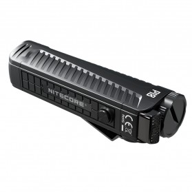 NITECORE P18 Senter LED Flashlight CREE XHP35 HD 1800 Lumens with Auxiliary Red Light Tactical - Black - 3