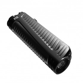 NITECORE P18 Senter LED Flashlight CREE XHP35 HD 1800 Lumens with Auxiliary Red Light Tactical - Black - 4
