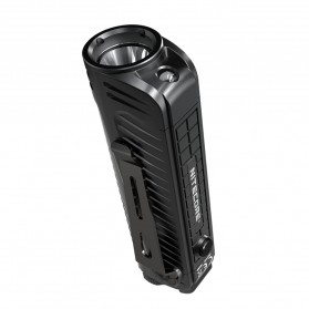 NITECORE P18 Senter LED Flashlight CREE XHP35 HD 1800 Lumens with Auxiliary Red Light Tactical - Black - 5