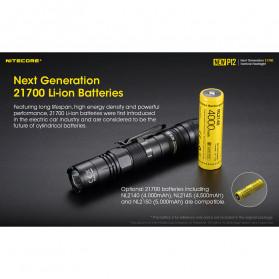 NITECORE New P12 Senter LED CREE XP-L HD V6 1200 Lumens - Black - 4