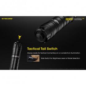 NITECORE New P12 Senter LED CREE XP-L HD V6 1200 Lumens - Black - 6