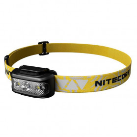 NITECORE NU17 Headlamp Chargerable CREE XP-G2 S3 130 Lumens - Black