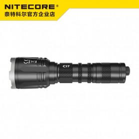 NITECORE CI7 Senter LED Tactical Flashlight With Infrared CREE XP-G3 S3 LED 2500 White Lumens - Black - 2