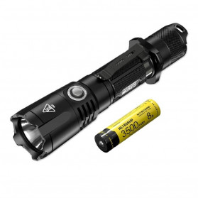 NITECORE MH25GTS Hunting Kit Senter LED CREE XHP35 HD 1800 LUMENS - Black - 6