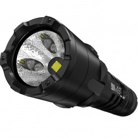 NITECORE P20UV V2 Senter White+UV LED CREE XP-L2 V6 1000 Lumens - Black - 4