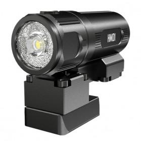 NITECORE HM01 Senter LED Tactical Helmet Light Luminus SST-20-W 320 Lumens - Black
