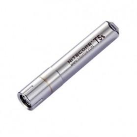 NITECORE T5s Senter LED CREE XP-G (R2) 65 Lumens - Silver
