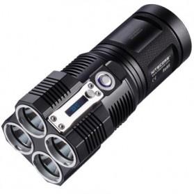 NITECORE TM26 Senter LED CREE XM-L2 3800 Lumens - Black