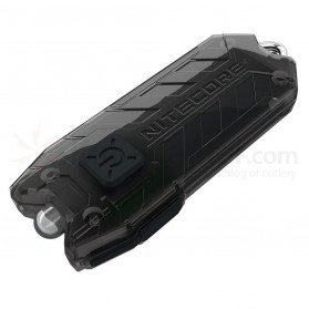 NITECORE Tiny Series Tube 45 Lumens USB Rechargeable Keychain Light - Black