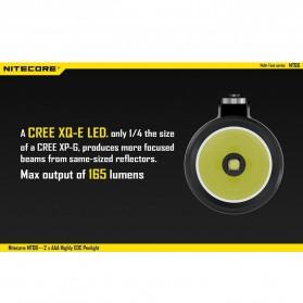 NITECORE MT06 Senter LED CREE XQ-E R2 165 Lumens - Black - 3