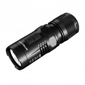 NITECORE EC11 Senter LED CREE XM-L2 U2 900 Lumens - Black