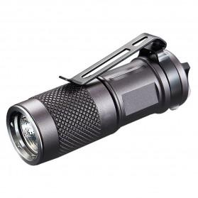 Niteye Jet-I MK Tiny Flashlight Senter LED CREE XP-G2 480 Lumens - Black - 1