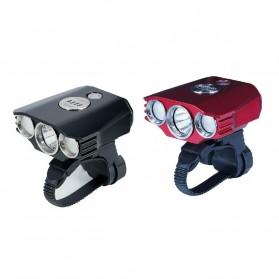 Niteye B30 Lampu Sepeda LED CREE XM-L U2 + XP-G R5 1000 Lumens - Black