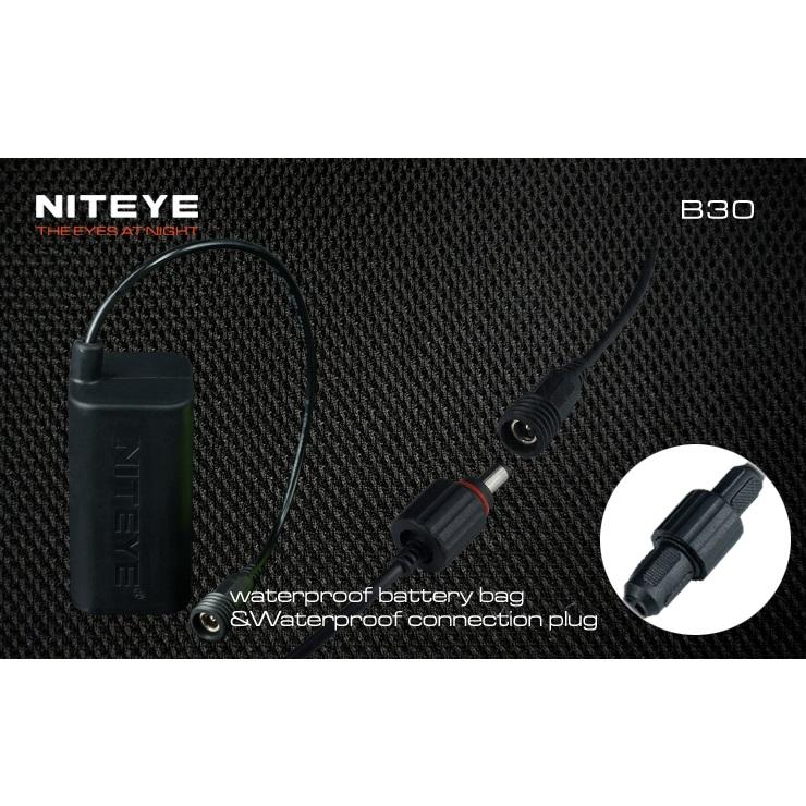 Niteye B30 Lampu Sepeda LED CREE XM-L U2 + XP-G R5 1000