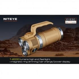 Niteye EYE30 Senter LED CREE XM-L U2 2000 Lumens - Desert Sand