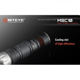 Niteye MSC10 Senter Military LED CREE XM-L U2 280 Lumens - Black - 8