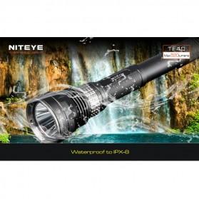 Niteye TF40 Senter LED CREE XM-L U2 520 Lumens - Black - 9