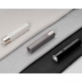 Xiaomi SOLOVE X3S Senter LED Flashlight Rechargerable + Powerbank 3000mAh - White - 3