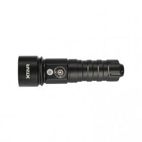 Xtar D26W Diving Waterproof Senter LED CREE XM-L2 U2 1000 Lumens (Warm Light) - Black - 6