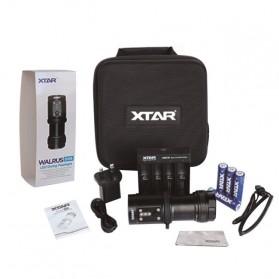 Xtar Walrus D08 Diving Waterproof Senter LED Cree XP-E2 2000 Lumens - Black - 2