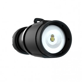 Xtar Walrus D08 Diving Waterproof Senter LED Cree XP-E2 2000 Lumens - Black - 3