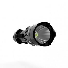 Xtar TZ28 Senter LED CREE XHP35 HI/D4 1500 Lumens - Black - 2