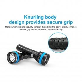 Xtar D06 Diving Waterproof Senter LED CREE XHP35 1600 Lumens - Black - 7