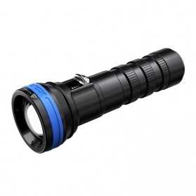 Xtar D06 Diving Waterproof Senter LED CREE XP-L2 V6 1200 Lumens - Full Set Package - Black - 2