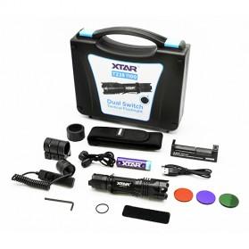 Xtar TZ28 Senter LED CREE XP-L HI V2 1100 Lumens - Full Set Package - Black