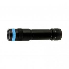 Xtar D20 Diving Waterproof Senter LED Cree XP-L V6 1000 Lumens - Black - 2