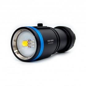 Xtar D30 Diving Waterproof Senter LED 4000 Lumens - Black - 4
