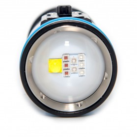 Xtar D30 Diving Waterproof Senter LED 4000 Lumens - Black - 8
