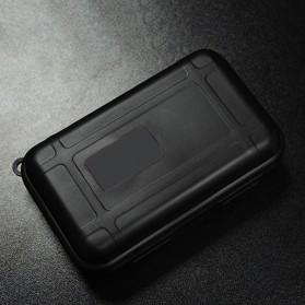 Knowledge Zenith Hardcase Pelican Box Kotak Penyimpanan Earphone without Logo - BD1713 - Black - 1