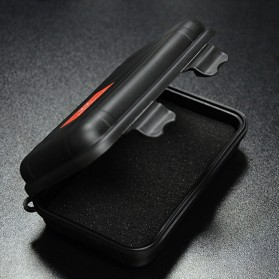 Knowledge Zenith Hardcase Pelican Box Kotak Penyimpanan Earphone without Logo - BD1713 - Black - 2