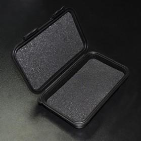 Knowledge Zenith Hardcase Pelican Box Kotak Penyimpanan Earphone without Logo - BD1713 - Black - 3