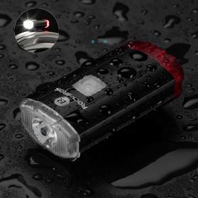 Rockbros Lampu Sepeda Depan & Belakang USB Rechargeable 100 Lumens - YQ-TD100LM - Black - 3