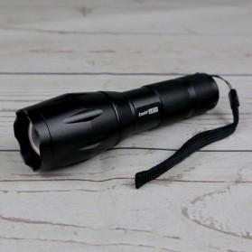 TaffLED Senter LED Cree XM-L T6 2000 Lumens - E17 - Black