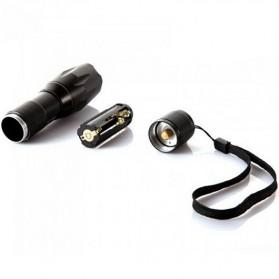 TaffLED Senter LED Cree XM-L T6 2000 Lumens - E17 - Black - 7