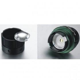 TaffLED Senter LED Mini XPE 320 Lumens - W-36 - Black - 7