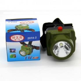 TRLIFE Military Waterproof Headlamp LED Cree - 2014-2 - Army Green - 12