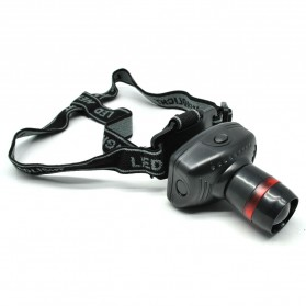 TRLIFE Lampu LED Zoom Headlamp Telescopic 3W - BL253 - Black
