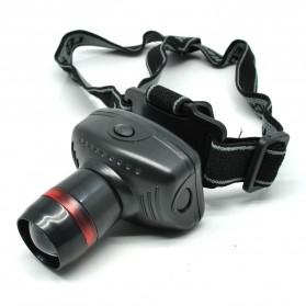 TRLIFE Lampu LED Zoom Headlamp Telescopic 3W - BL253 - Black - 3