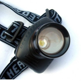 TRLIFE Lampu LED Zoom Headlamp Telescopic 3W - BL253 - Black - 5