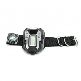 Senter LED Jam Tangan CREE XPE Q5 R2 - Black
